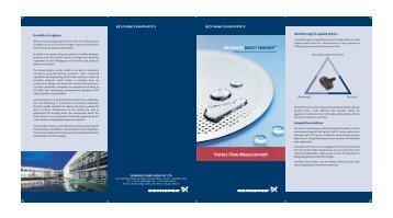 Vortex Flow Measurement - Grundfos
