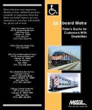 ADA Riders Guide Link - Metra