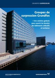 Groupes de surpression Grundfos