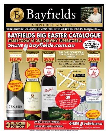 BAYfIELdS BIG EASTER CATALOGUE - Netstarter