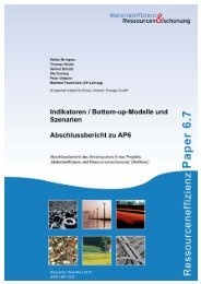 MaRess_AP6_7.pdf - Publication Server of the Wuppertal Institute ...