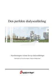 Den perfekte dialyseafdeling - Nyreforeningen