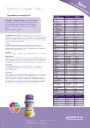 Nutridrink Compact Protein - Nutricia