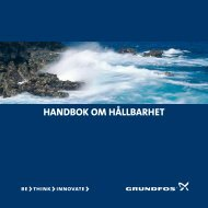 handbok om hållbarhet - Energy-efficient pumps for commercial ...