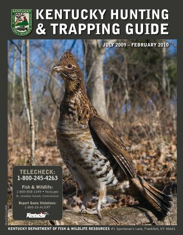 Tennessee tombigbee waterway hunting trapping permit u s for Tennessee fish and wildlife