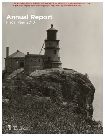 Annual Report - Minnesota State Legislature
