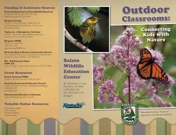 Outdoor - Kentucky Department of Fish and Wildlife Resources