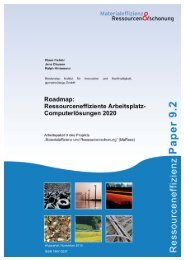 MaRess_AP9_2.pdf - Publication Server of the Wuppertal Institute
