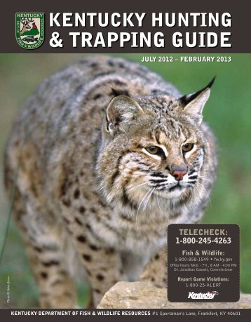Tennessee tombigbee waterway hunting trapping permit u s for Fish and wildlife permit