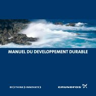manuel du developpement durable - Energy-efficient pumps for ...