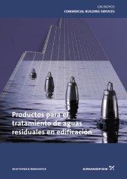 Productos para el tratamiento de aguas residuales en ... - Grundfos
