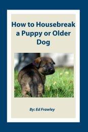 How to Housebreak a Puppy or Older Dog - Leerburg Enterprise, Inc