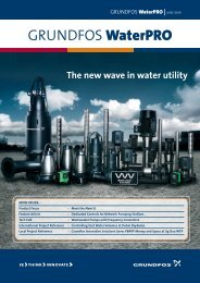 GRUNDFOS WaterPRO - Energy-efficient pumps for commercial ...