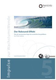 ImpW5.pdf - Publication Server of the Wuppertal Institute - Wuppertal ...