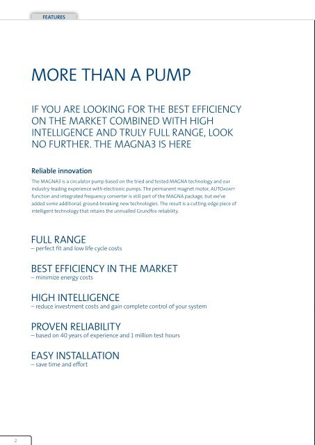 than a puMp - Energy-efficient pumps for commercial buildings ...