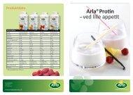 Arla®Protin – ved lille appetit