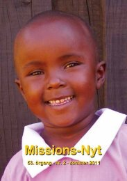 Missions-Nyt nr. 2 - 2011 med billeder - Missionsfonden