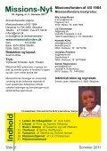 Missions-Nyt nr. 2 - 2011 med billeder - Missionsfonden - Page 2