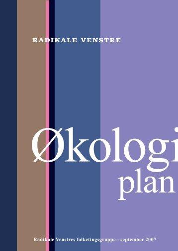 Økologiplan - Radikale Venstre