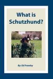 What is Schutzhund? - Leerburg Enterprise, Inc