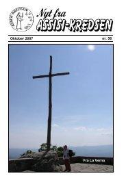 Oktober 2007 nr. 56 Fra La Verna - Assisi-Kredsen