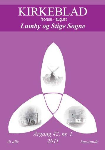 KIRKEBLAD - Lumby sogn