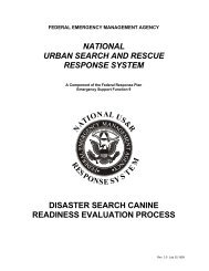 NATIONAL URBAN SEARCH AND RESCUE RESPONSE SYSTEM ...