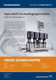 Hydro Multi E drukverhogingsinstallatie - Grundfos