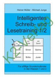 Intelligentes Schreib- und Lesetraining 1-2