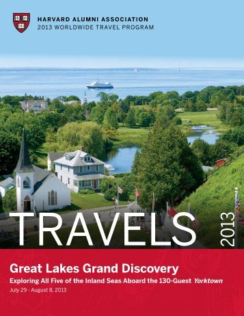 Great Lakes Grand Discovery - Harvard Alumni