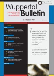 WB_2007-1.pdf - Wuppertal Institut
