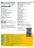 Missions-Nyt nr. 1 - 2009 med billeder - Missionsfonden - Page 2