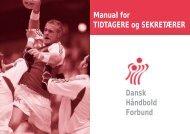Manual for TIDTAGERE og SEKRETÆRER Dansk ... - JHF, Kreds 3