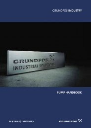 grundfos industry pump handbook - Energy-efficient pumps for ...