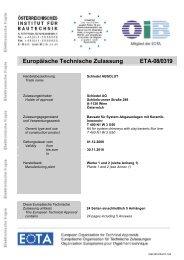 Europäische Technische Zulassung ETA-08/0319 - Schiedel