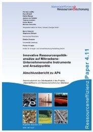 MaRess_AP4_11.pdf - Publication Server of the Wuppertal Institute ...