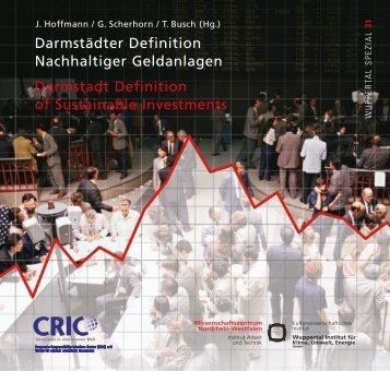 Darmstaedter Definition Nachhaltiger Geldanlagen - Publication ...