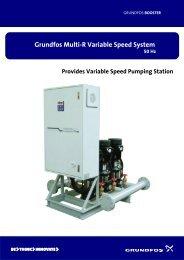 Grundfos Multi-R Variable Speed System 50 Hz
