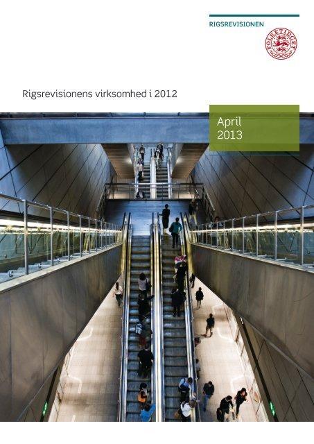 beretning om Rigsrevisionens virksomhed i 2012