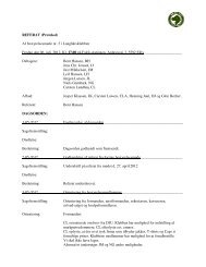 REFERAT (Protokol) Af bestyrelsesmøde nr. 5 i Langhårsklubben ...