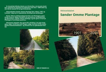 Aktieselskabet Sønder Omme Plantage 1901 - 2001