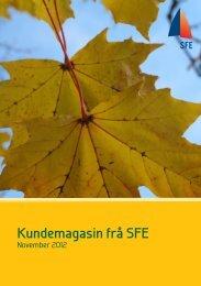 November 2012 - Sogn og Fjordane Energi