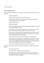 Formandens beretning for 2012 - Hjortebakken