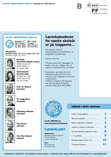 Nr. 4/2013 - Danmarks Lærerforening - kreds 82