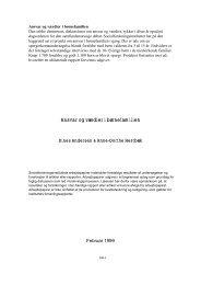 Ansvar og værdier i børnefamilien - SFI
