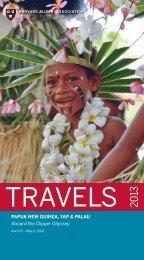 PAPUA NEW GUINEA, YAP & PALAU &3%6(ė8 ... - Harvard Alumni