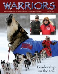 Warriors - Spring 2009 - Alaska - Department of Military and ...