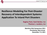 Resilience Modeling For Post-Disaster Recovery of ... - DIMACS