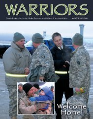 Winter 2009 - Alaska - Department of Military and Veterans Affairs ...