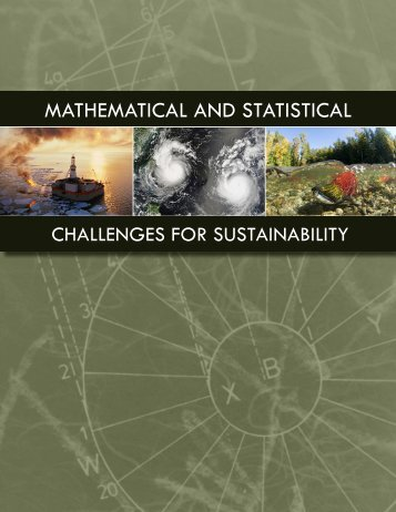 Mathematical and Statistical Challenges for Sustainability - DIMACS